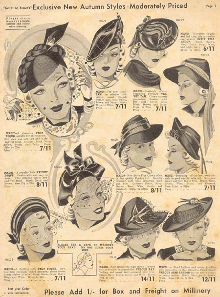 Millinery Designs